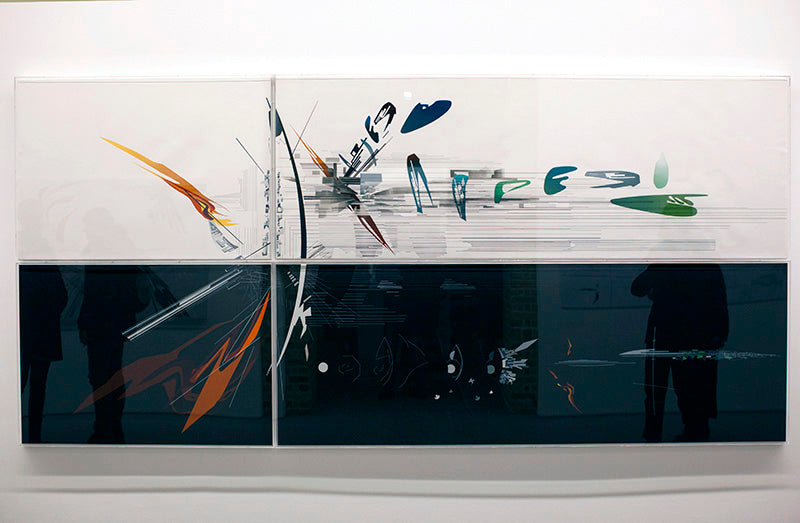 vision for madrid 1992 - zaha hadid paintings