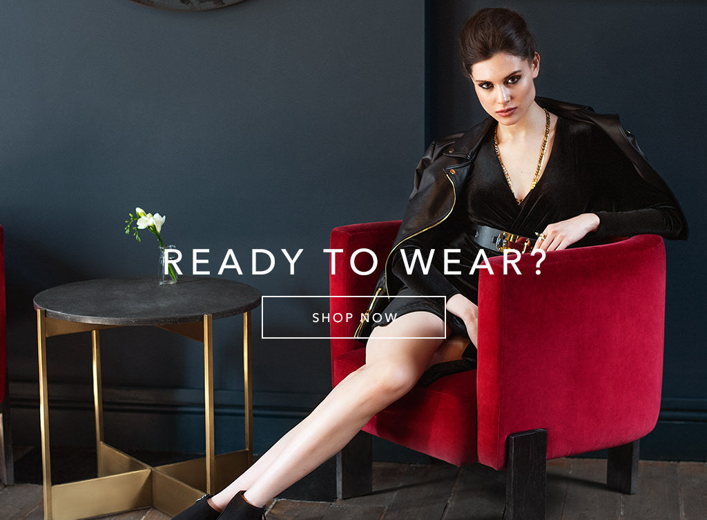 ready to wear? - shop now