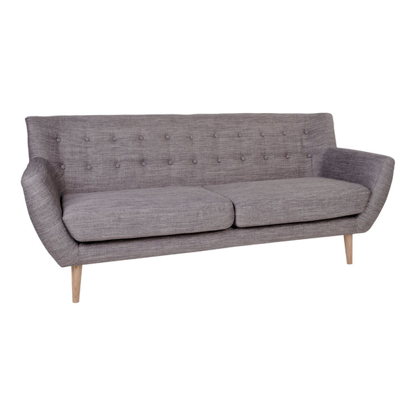 Monte 3-personers sofa i lysegrå