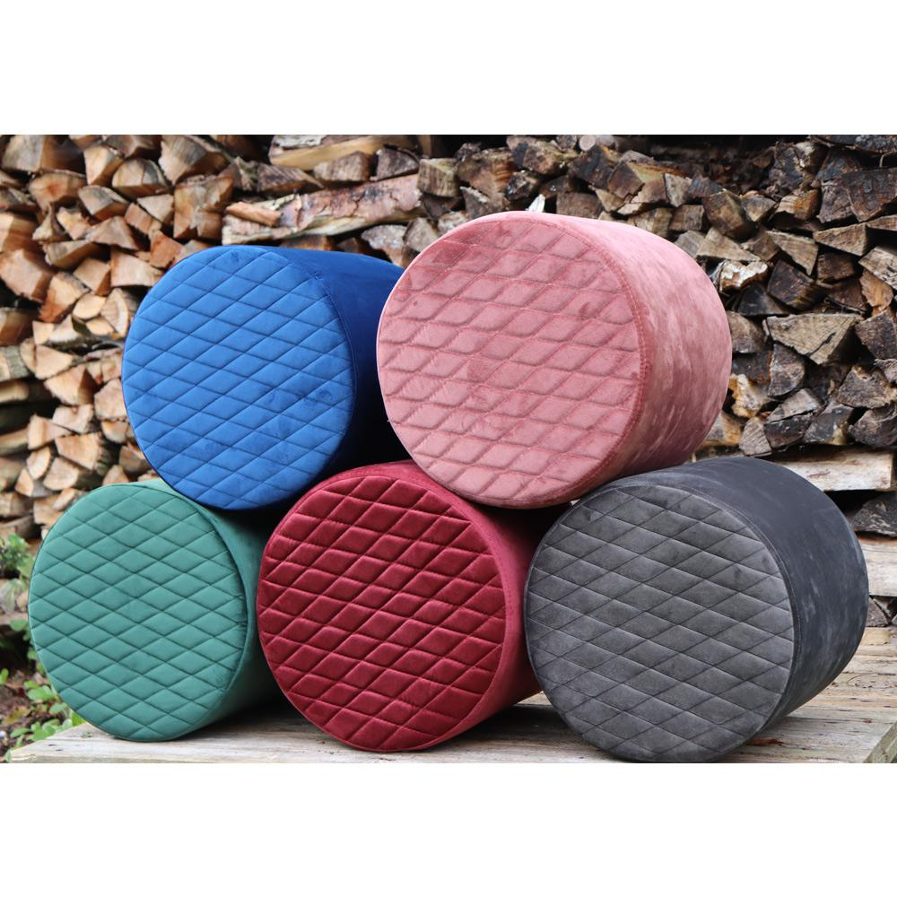 velour puf tilbud, offer pouf velvet