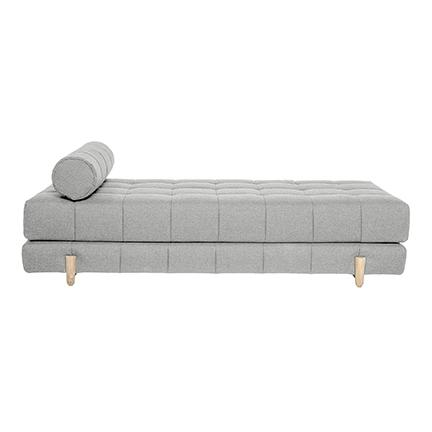 Daybed lysegrå uld