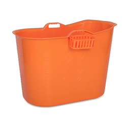 Orange badebalje