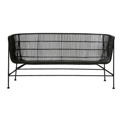 sort rattan sofa, House Doctor coon sofa