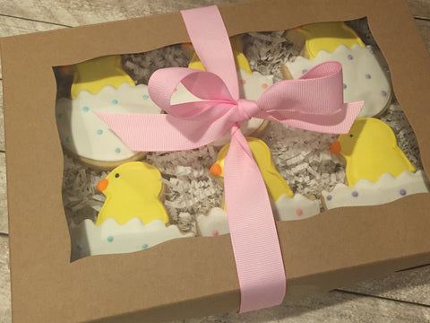 Easter Chick Gift Box (12 Count)