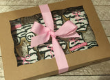 Baby Girl Zebra Print Gift Box (06 count)