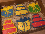 Birthday Gift Box Primary Colors (12 count)
