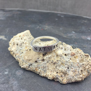 Named Sterling Silver Ring