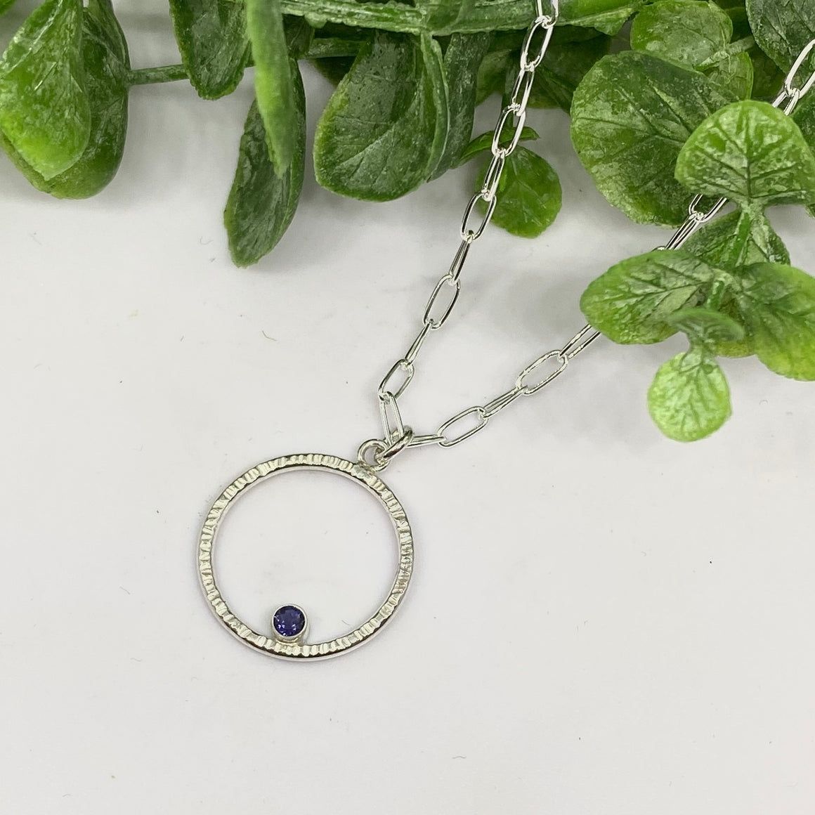 Sterling Circlet Necklace