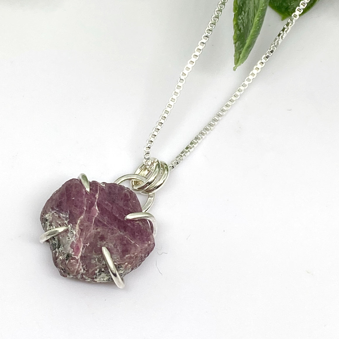 Raw Record Keeper Ruby Pendant