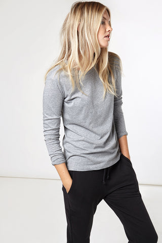 Everyday Luxe Long Sleeve in Grey