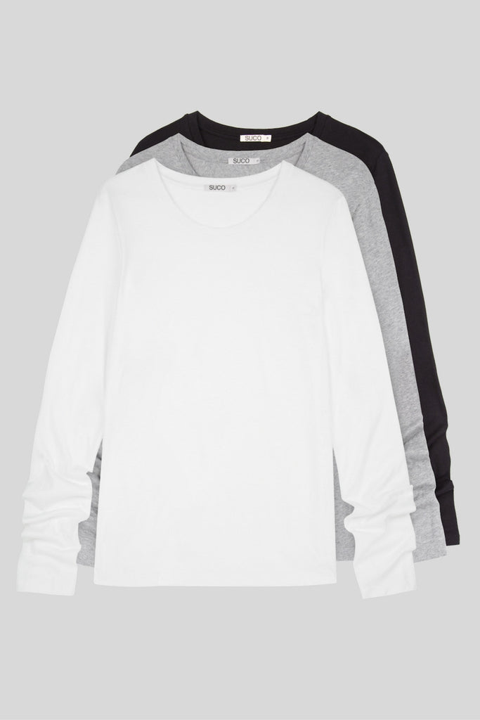 Luxury Long Sleeve Trio