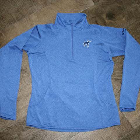 Ladies Stretch 1/2 Zip Pullover