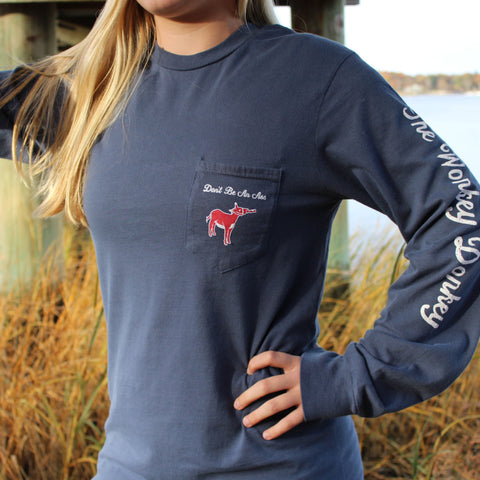 Patriot Long Sleeve Pocket Tee - Unisex