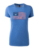 Ladies Stars & Stripes Short Sleeve T