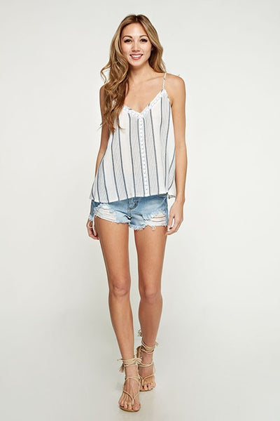 Bishop Striped Tank Top