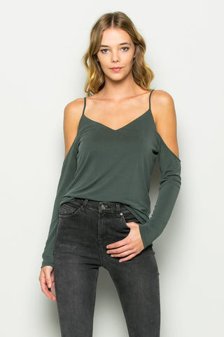 Maxine Cold Shoulder Top