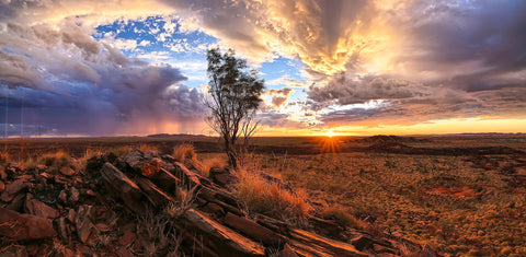 Storms and Sunset Karratha