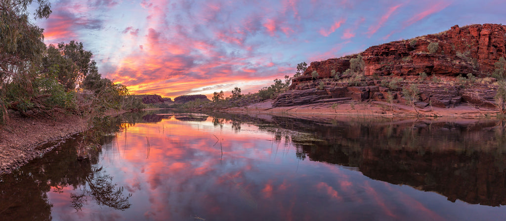 Fortescue River Sunset