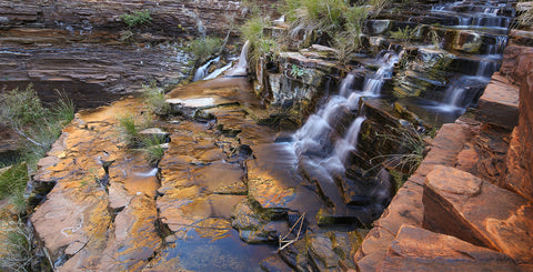 Fortescue Falls Reflections