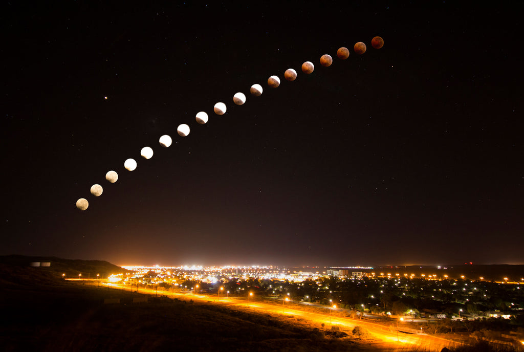 Karratha Lunar Eclipse