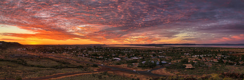 Sunset over Karratha