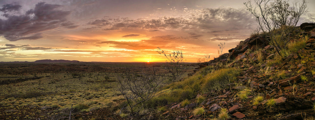 Cloudy Karratha Sunset