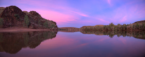 East Pilbara Pink Sunset