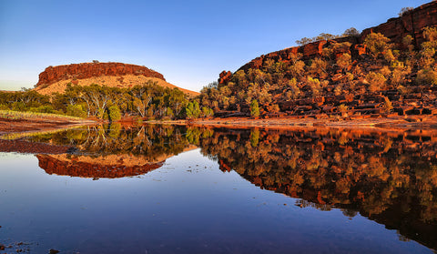 Fortescue River Reflections