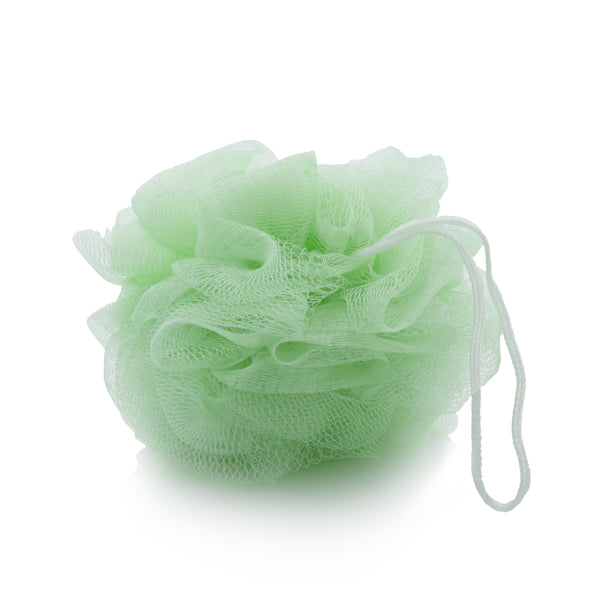 Silken Body Net - Green with Thin White Cord