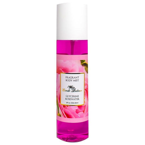 Fragrant Body Mist 8 oz Glycerine Rosewater