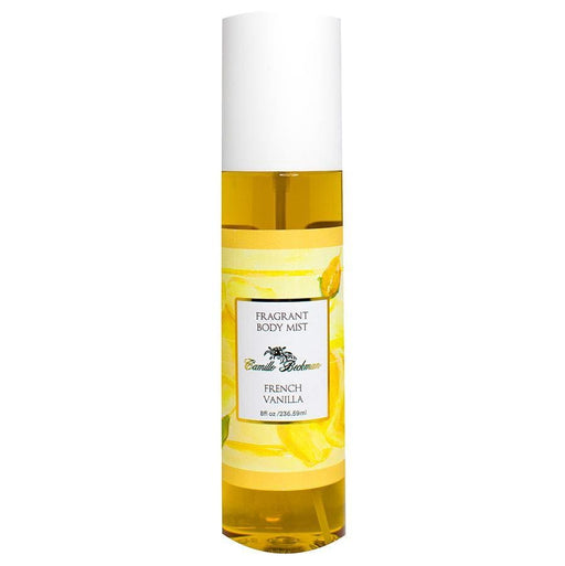 Fragrant Body Mist 8 oz French Vanilla - Camille Beckman