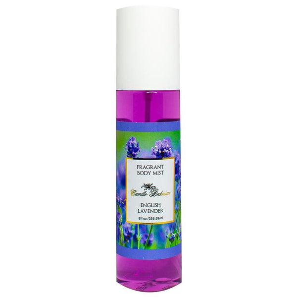 Fragrant Body Mist 8oz English Lavender - Camille Beckman