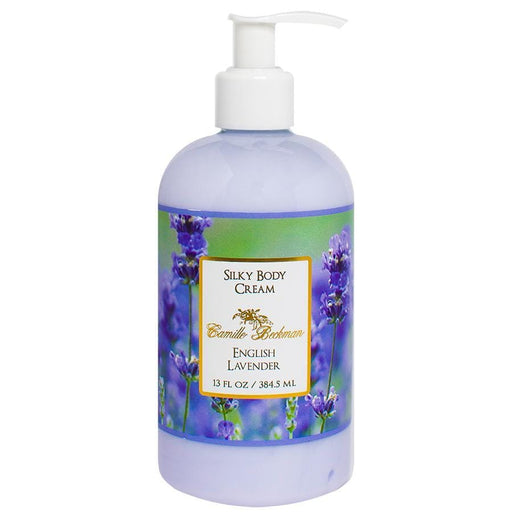 Silky Body Cream 13oz English Lavender - Camille Beckman