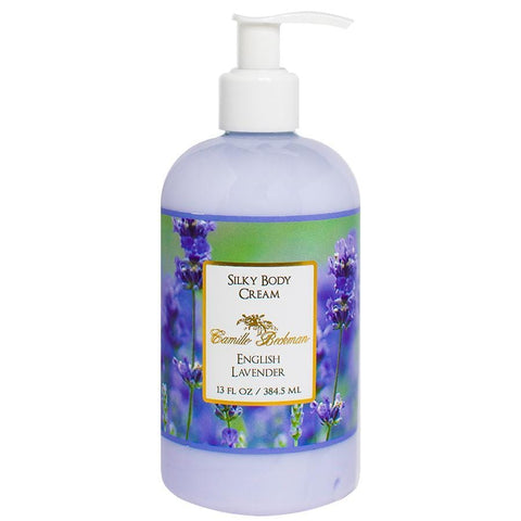 Silky Body Cream 13oz English Lavender