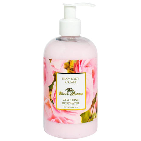 Silky Body Cream 13oz Glycerine Rosewater