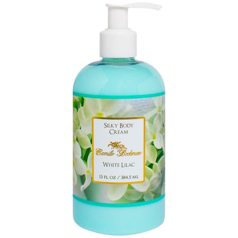 Silky Body Cream 13oz White Lilac