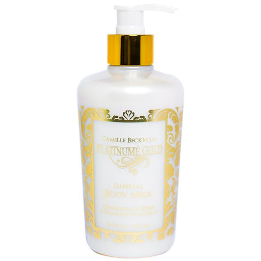 Imperial Body Milk Platinume Gold 13oz - Camille Beckman