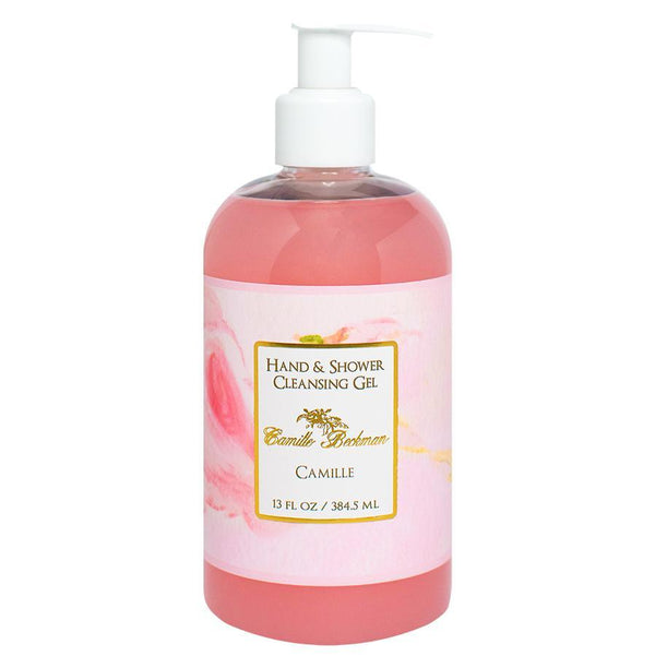Hand and Shower Cleansing Gel 13oz Camille - Camille Beckman