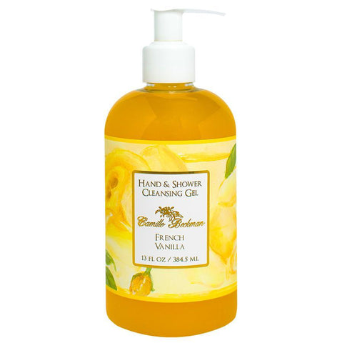Hand and Shower Cleansing Gel 13oz French Vanilla