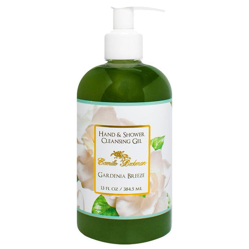 Hand and Shower Cleansing Gel 13oz Gardenia Breeze - Camille Beckman