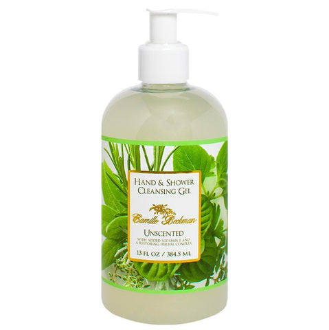 Hand and Shower Cleansing Gel 13oz Unscented