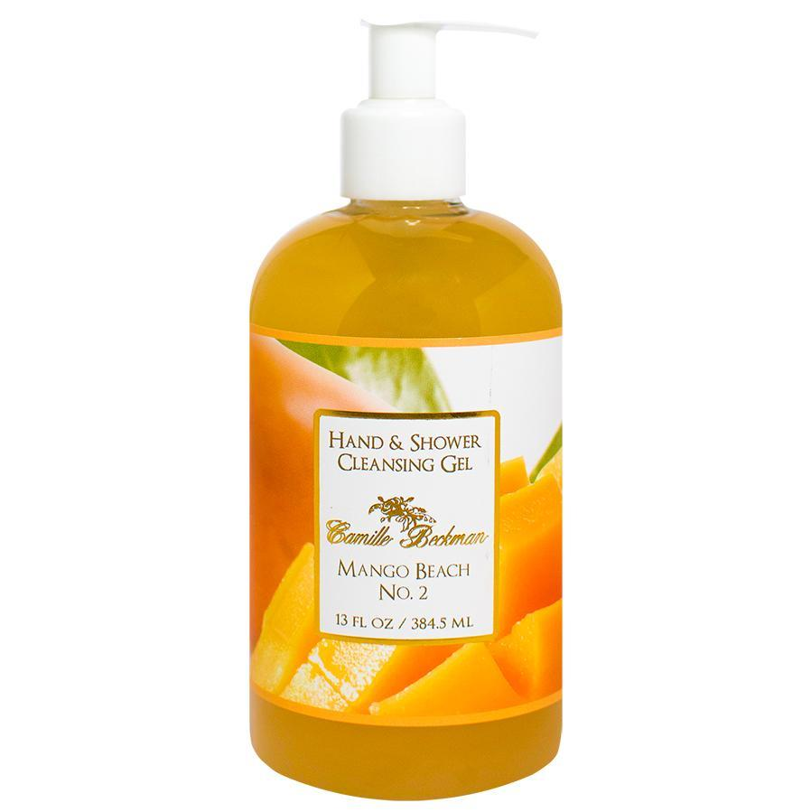 Hand and Shower Cleansing Gel 13oz Mango Beach No.2 - Camille Beckman