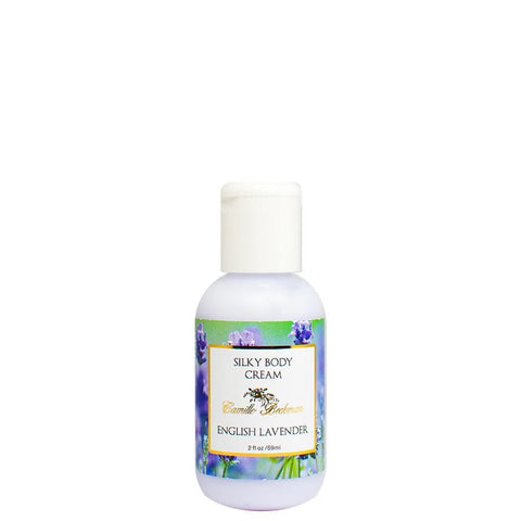 Silky Body Cream 2 oz English Lavender