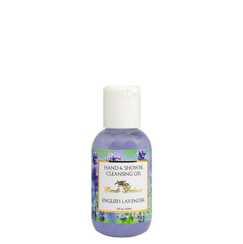 Hand and Shower Cleansing Gel 2oz English Lavender
