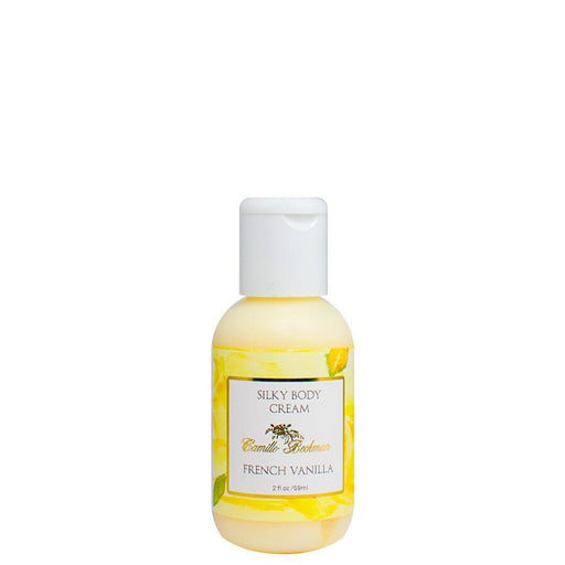 Silky Body Cream 2 oz French Vanilla - Camille Beckman