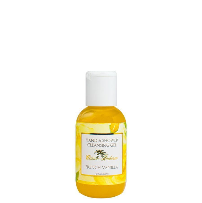 Hand and Shower Cleansing Gel 2 oz French Vanilla - Camille Beckman