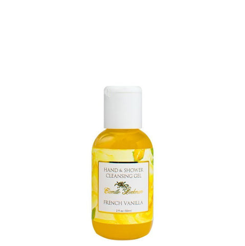 Hand and Shower Cleansing Gel 2oz French Vanilla