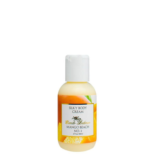 Silky Body Cream 2 oz Mango Beach No. 2 - Camille Beckman