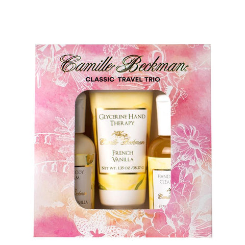 French Vanilla Classic Travel Trio