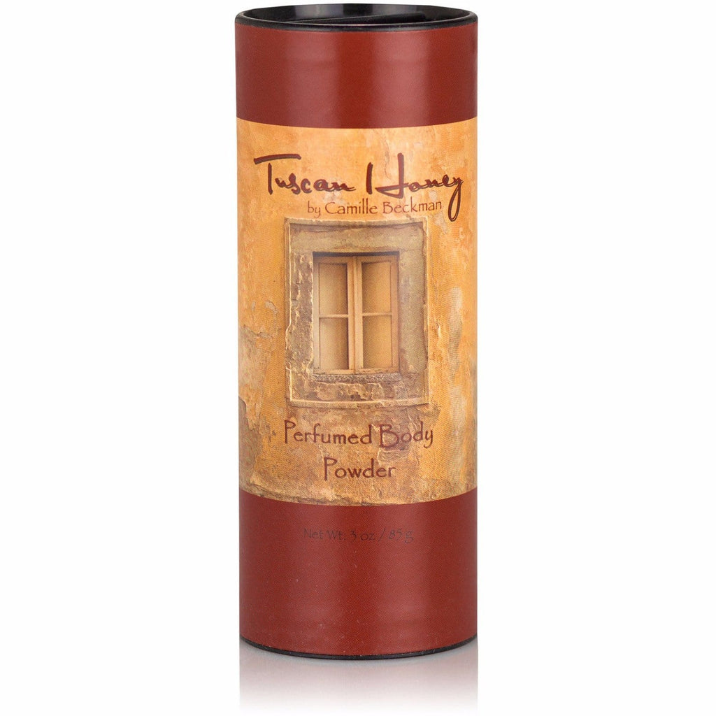 Perfumed Body Powder Tuscan Honey - Camille Beckman